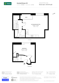 Large floorplan for Henshall Street, East Canonbury, N1