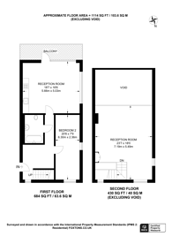 Large floorplan for Arbutus Street, Haggerston, E8