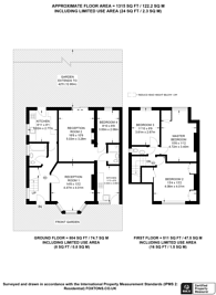 Large floorplan for Eversley Crescent, Isleworth, TW7