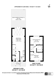 Large floorplan for Harman Rise, Ilford, IG3