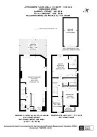 Large floorplan for Kingston Hill Place, Kingston, KT2