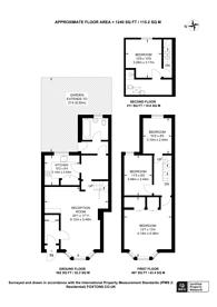 Large floorplan for Woodlands Park Road, Haringay, N15, Harringay, N15