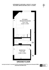 Large floorplan for Wendon Street, Bow, E3