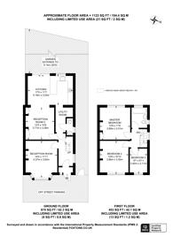 Large floorplan for Sutton Square, Hounslow, TW5