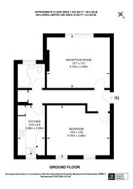 Large floorplan for Grange Park, Ealing, W5