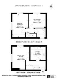 Large floorplan for Linford Road, Walthamstow, E17