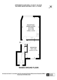 Large floorplan for Denbigh Place, Pimlico, SW1V