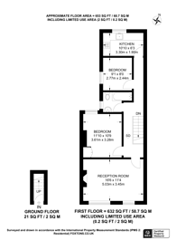 Large floorplan for Cairo Road, Walthamstow, E17