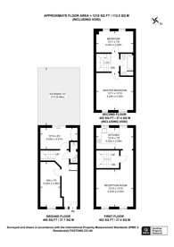 Large floorplan for Edmeston Close, Homerton, E9