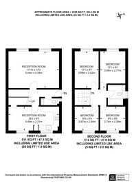 Large floorplan for Hilldrop Crescent, Hillmarton Conservation Area, N7