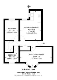 Large floorplan for Headstone Road, Harrow, HA1