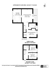 Large floorplan for Ericcson Close, East Putney, SW18