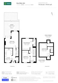 Large floorplan for Elizabeth Place, Eton Wick, SL4