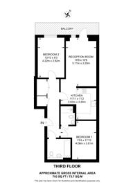 Large floorplan for Ladysmith Road, Harrow, HA3