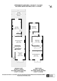Large floorplan for Amberley Grove, Croydon, CR0