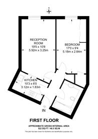 Large floorplan for Palgrave Gardens, Regent's Park, NW1