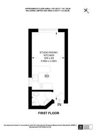 Large floorplan for Wightman Road, Harringay, N4