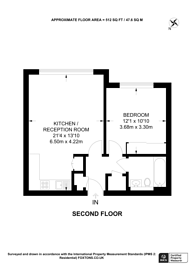 Large floorplan for Borland Road, Nunhead, SE15