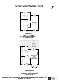 Large floorplan for Abbey Avenue, Alperton, HA0
