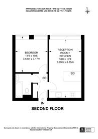 Large floorplan for Grafton Road, Kentish Town, NW5