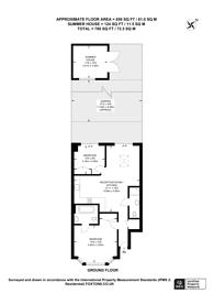 Large floorplan for Hamilton Road, Dollis Hill, NW10