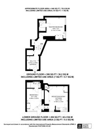 Large floorplan for Seymour Street, Marylebone, W1H
