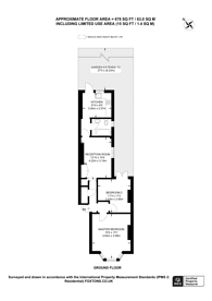 Large floorplan for Crescent Road, Wood Green, N22