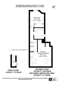 Large floorplan for Holmewood Gardens, Brixton Hill, SW2