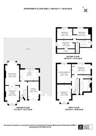 Large floorplan for Brookhill Road, East Barnet, EN4