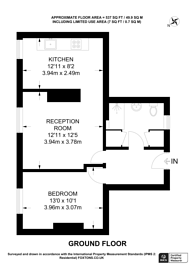 Large floorplan for Besford House, Bethnal Green, E2