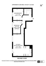 Large floorplan for Dove Road, Islington, N1