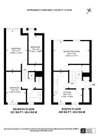 Large floorplan for Crayford Road, Islington, N7