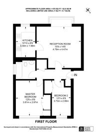 Large floorplan for Highfield Hill, Crystal Palace, SE19