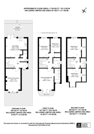 Large floorplan for The Grove, Isleworth, TW7