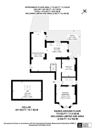 Large floorplan for Marmora Road, Dulwich, SE22