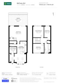 Large floorplan for Wolf Lane, Windsor, SL4
