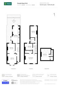 Large floorplan for Temple Road, Windsor, SL4