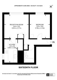 Large floorplan for Abinger Grove, Deptford, SE8