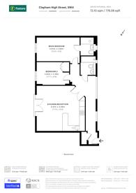 Large floorplan for Clapham High Street, Clapham High Street, SW4