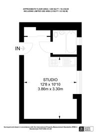 Large floorplan for Sloane Avenue, Kings Road, SW3