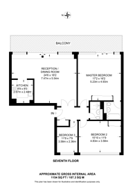 Large floorplan for Branch Road, Canary Wharf, E14
