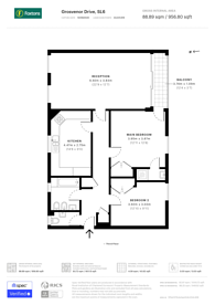 Large floorplan for Grosvenor Drive, Maidenhead, SL6