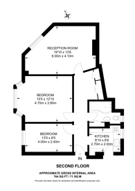 Large floorplan for Streatham High Road, Streatham Hill, SW16