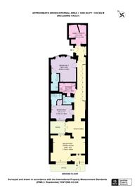 Large floorplan for Bryanston Mews East, Marylebone, W1H