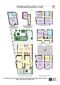 Large floorplan for Dalmeny Road, Tufnell Park, N7