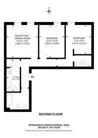 Large floorplan for Isabella Mews, Islington, N1