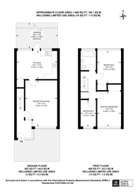 Large floorplan for White Lodge, Upper Norwood, SE19