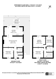 Large floorplan for Fleming Mead, CR4, Mitcham, CR4