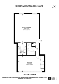 Large floorplan for Jedburgh Road, Plaistow, E13