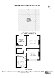 Large floorplan for Willow Road, Ealing, W5